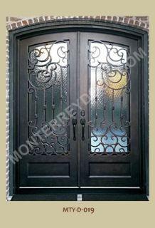 Stock Desings of Iron Doors