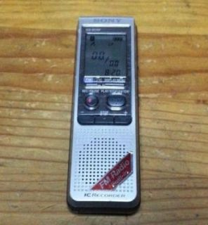 SONY ICD-B510F Handheld Digital Voice Recorder with fm radio--PreOwned