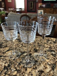 PartyLite Clear Lines Trio Tealight Candle Holders