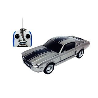 1967 Shelby GT500 Silver Eleanor Ford Mustang Officially Licensed Collectibles Radio Control Car