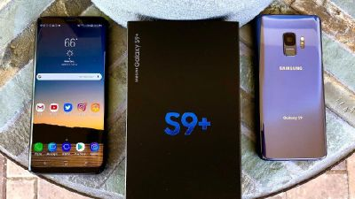 Samsung Galaxy S9 and S9+ Smartphone