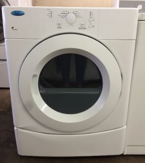 Whirlpool 6.7 Electric Dryer in White