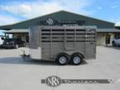 2019 CM Stocker 14' Livestock Bumper Pull Trailer Stock