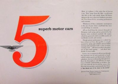 Find Original 1956 Jaguar Dealer Sales Brochure 2.4 XK-140 Roadster Coupe Mark VII motorcycle in Holts Summit, Missouri, United States, for US $34.56