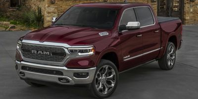 2019 RAM All-New 1500 Longhorn 4x4 Crew Cab 5'7 Box (Billet Silver Metallic Clearcoat)