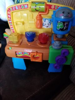 Fisher price laugh and learn tool bench