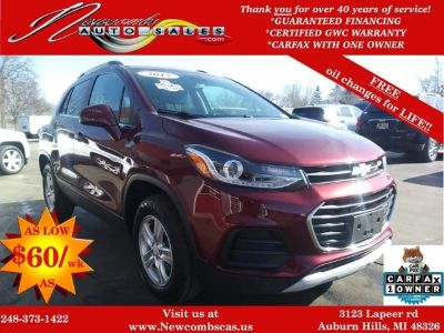 2017 Chevrolet Trax LT AWD 4dr Crossover w/1LT