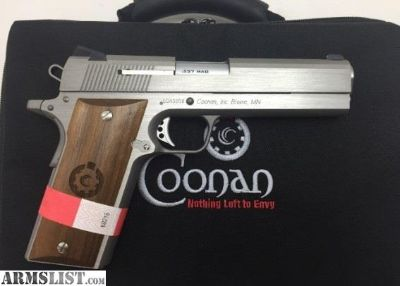 For Sale: Coonan Classic 1911 357 mag stainless