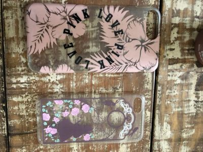 Phone cases 6+ and iPhone 8 $2 each