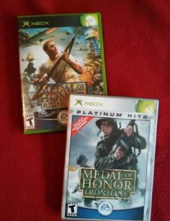 Medal of Honor Xbox games set