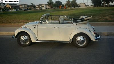 1968 Convertible Bug - Restored, Good Condition