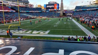 (2) TICKETS PATRIOTS VS TEXANS SEPTEMBER 9, 2018 1:00 PM GILLETTE STADIUM