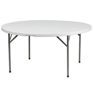 Round Plastic Folding Table - Larry Hoffman Chair
