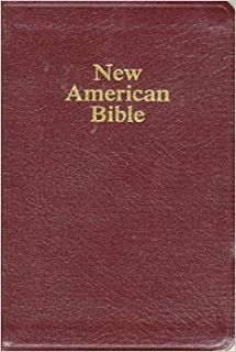 ***The New American Bible***Leather Bound BRAND NEW