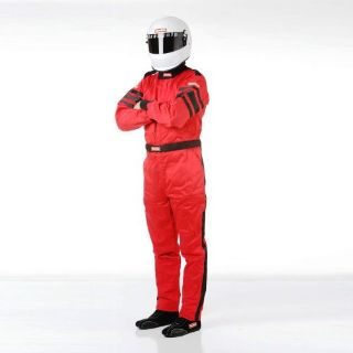 Find RaceQuip 120013 Driving Suit SFI-5 SUIT RED MEDIUM motorcycle in Decatur, Georgia, United States, for US $259.95
