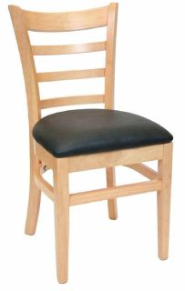 Solid Wood Restaurant Chairs - 1st Folding Chairs Larry