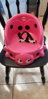 Fisher price booster seat- pink lady bug