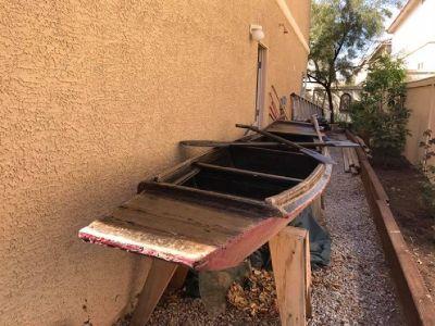 Chinese Rice Patty Boat