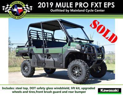 2019 Kawasaki Mule PRO-FXT EPS