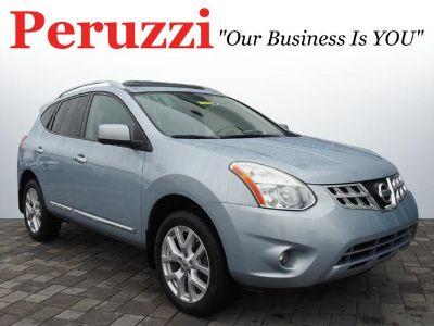 2012 Nissan Rogue S (Frosted Steel)