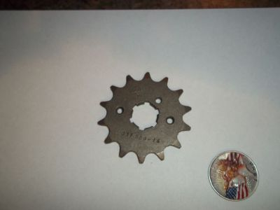 Purchase JT FRONT SPROCKET, 14T, WR250Z-500Z, IT250-400-426-465-490, YZ250-490, YFM350 motorcycle in Austin, Texas, United States, for US $11.72