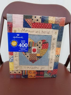 NEW- Hallmark Quilt Design Photo Album