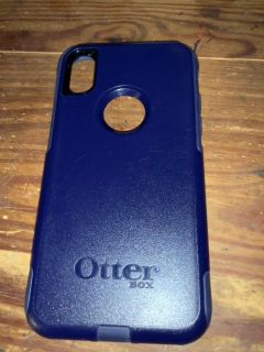 iPhone X otter case