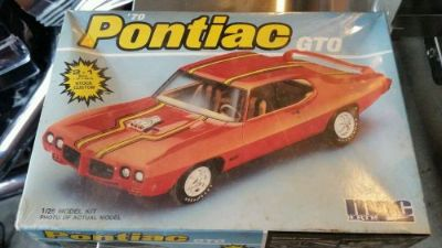 Purchase NOS Vintage Pontiac GTO Model 1970 motorcycle in Leola, Pennsylvania, United States, for US $24.99