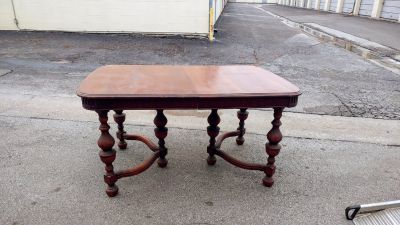 Antique French Jacobean Revival Dining Table