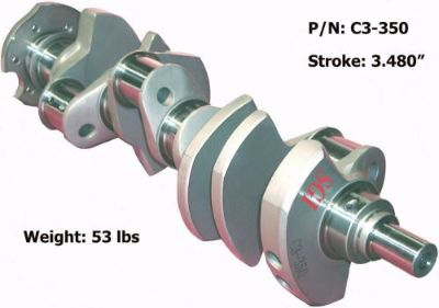 Purchase SGI Forged 4340 Steel Crankshaft SBC350 3.480 3.500 3.562 3.625 3.750 3.875 motorcycle in Rowland Heights, California, United States, for US $425.00