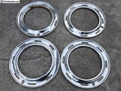 """Old school beauty rings for 15"""" vw wheel"""