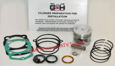 Purchase 83-85 Honda ATC 200X Cylinder Top End Rebuild Kit Machining Service Engine ATV motorcycle in Somerville, Tennessee, United States, for US $155.95