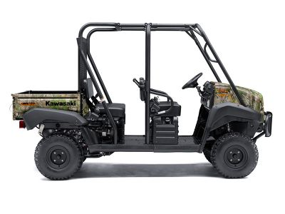 2018 Kawasaki Mule 4010 Trans4x4 Camo Side x Side Utility Vehicles Longview, TX