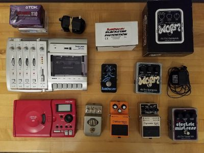Guitar pedals and some other stuff