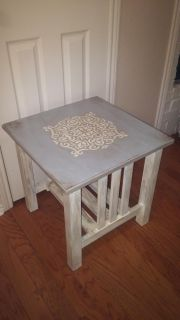 Side table, real wood