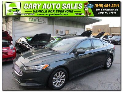 2016 Ford Fusion S (GREEN)