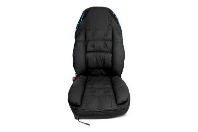 Buy Option-R SC-31Z - Black Racing Seat Cover w Blue Neon Glow motorcycle in Whittier, California, US, for US $48.39