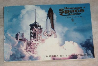 NEW Rare HTF John Kennedy Space Center Book of 33 Postcards Nasa Apollo Shuttle