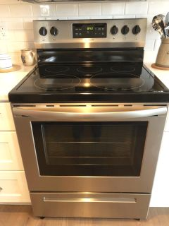 Brand new Frigidaire electric stainless steel oven