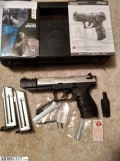 For Sale/Trade: Walther P22Q Target Model