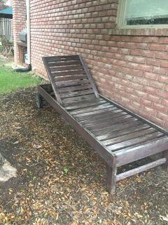 Pottery Barn Chaise Lounge