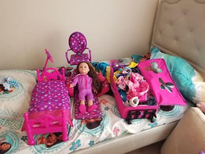 American girl doll plus accessories