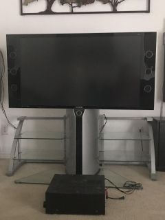 Samsung 50 tv and stand 200.00