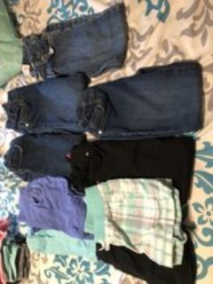 5t girls jeans and shorts