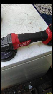 Milwaukee cordless grinder
