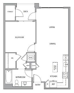 $6780 1 apartment in Mountain View