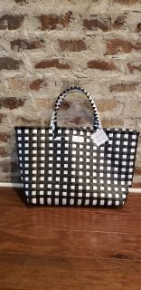 Kate Spade Black and White Checkered Tote. Was a Gift with $95 Purchase. NWT. Never Used.