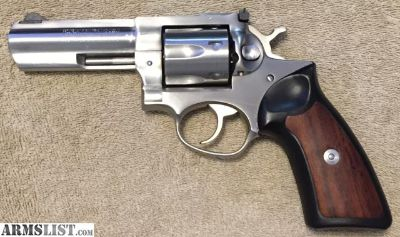 "For Sale: Ruger GP100 4"" Stainless"