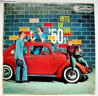 Hits of The `50s LP - 1958 Sunroof Beetle