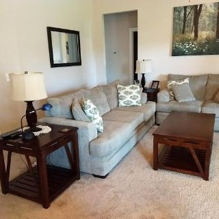 Living Room Set, complete with Tables